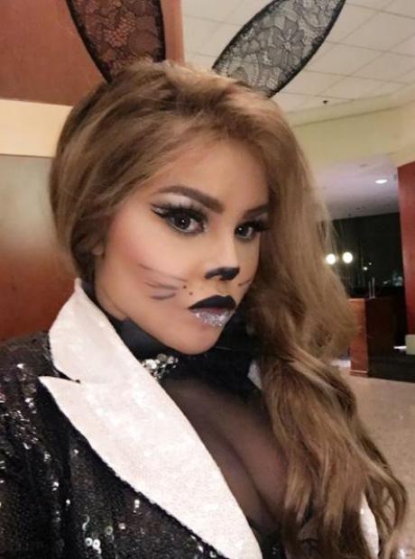 Lil Kim Halloween Cat