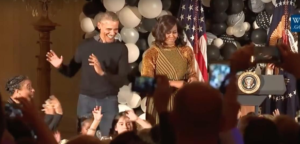 Watch Obama's Hilarious Dad Dancing To 'Thriller' At A White House ...