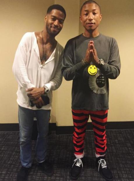 Kid Cudi Pharrell