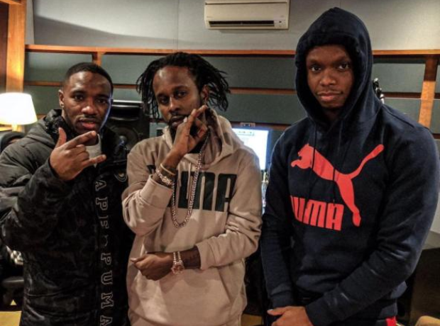Krept and Konan with Popcaan