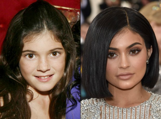 Kylie Jenner Makeup Transformation