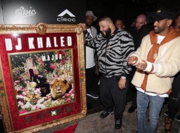 DJ Khaled Major Key Going Gold