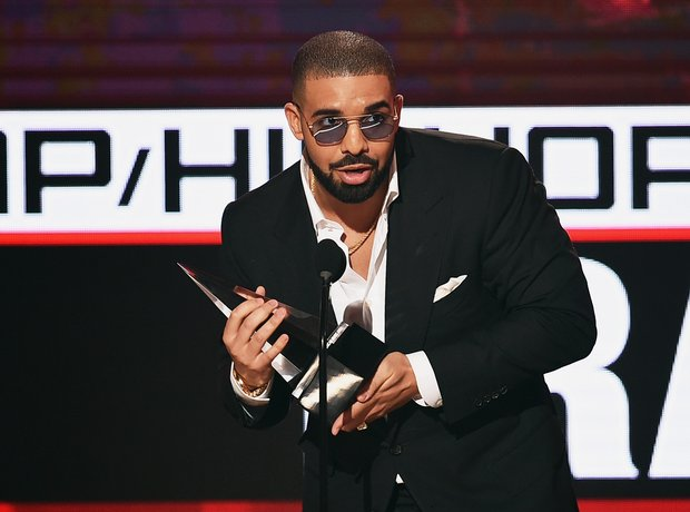 Drake AMAs Best Rap Artist Speech