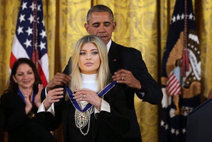 Kylie Jenner Barack Obama