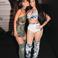 Image 8: Nicki Minaj Ariana Grande Backstage AMAs
