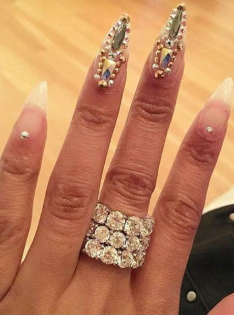 Nicki Minaj Diamond Ring