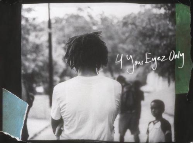 J. Cole 4 Your Eyez Only Artwork