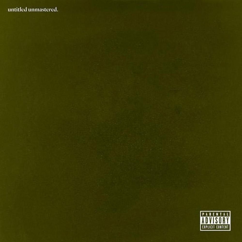 Kendrick Lamar Untitled Unmastered Artwork
