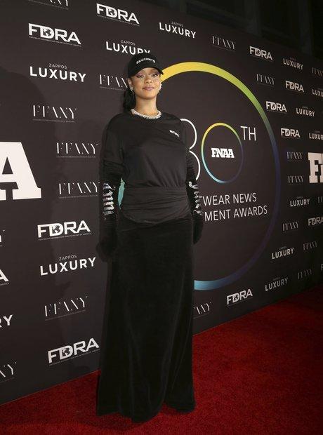 Rihanna Wins Shoe Of The Year Award 2016