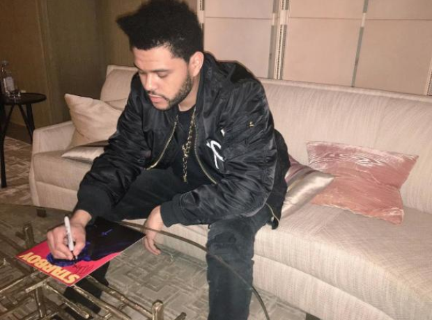 The Weeknd Autographs