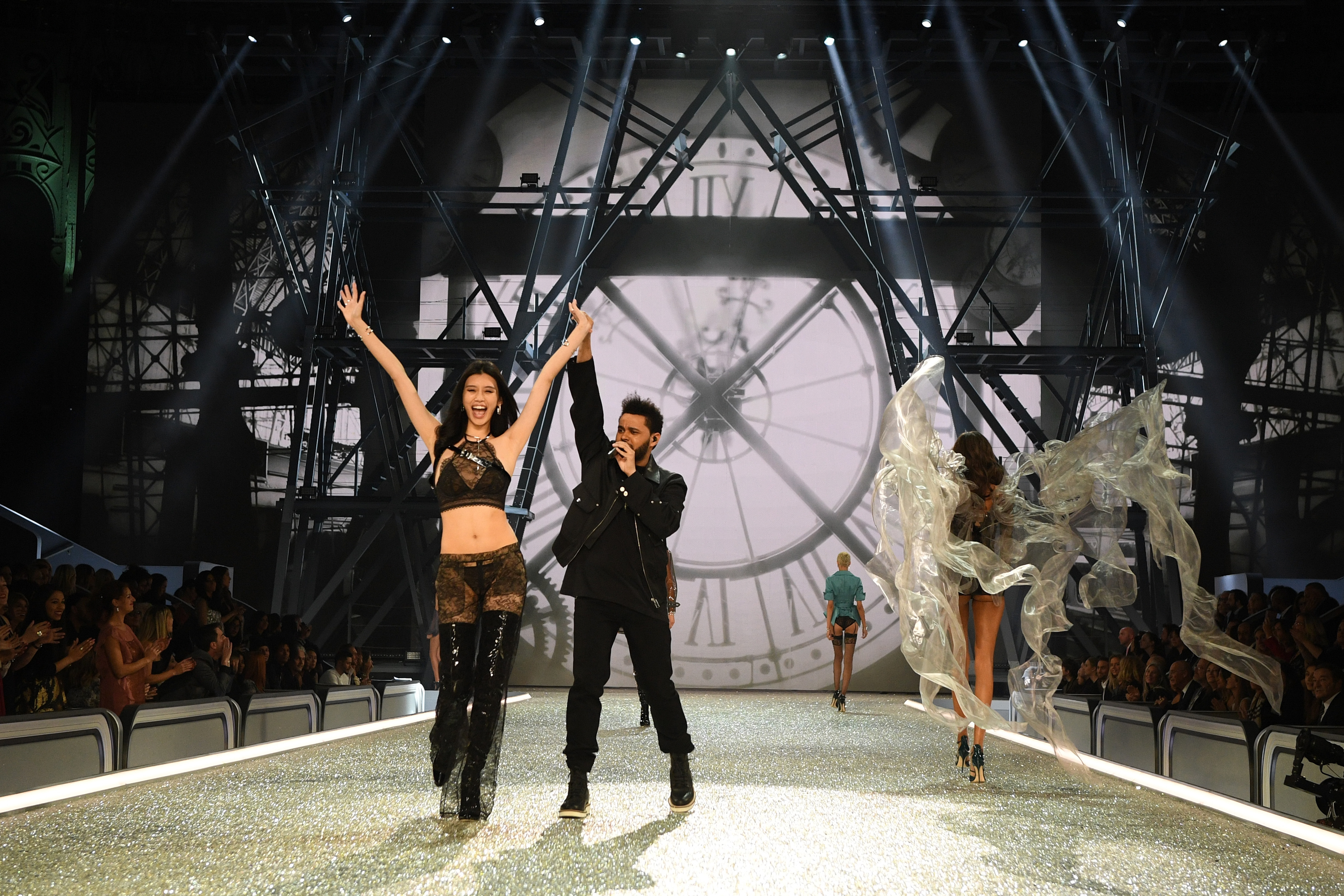 The Weeknd VS Fashion Show