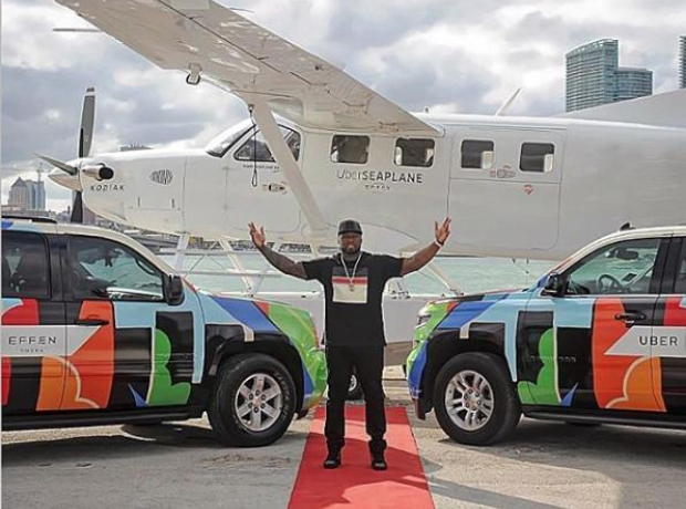 50 Cent Uber Sea Plane