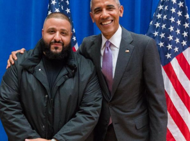Barrack Obama and DJ Khaled