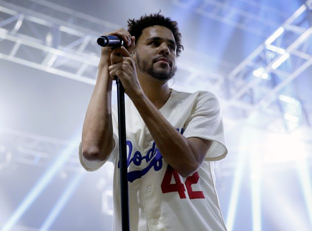 J. Cole Performing
