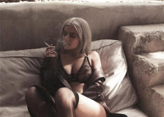 Kylie Jenner Smoking