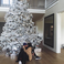 Image 5: Kylie Jenner and Tyga under a Christmas tree