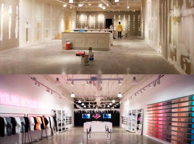 Kylie Jenner Pop-up Shop