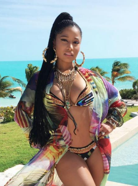 Nicki Minaj In Turks and Caicos