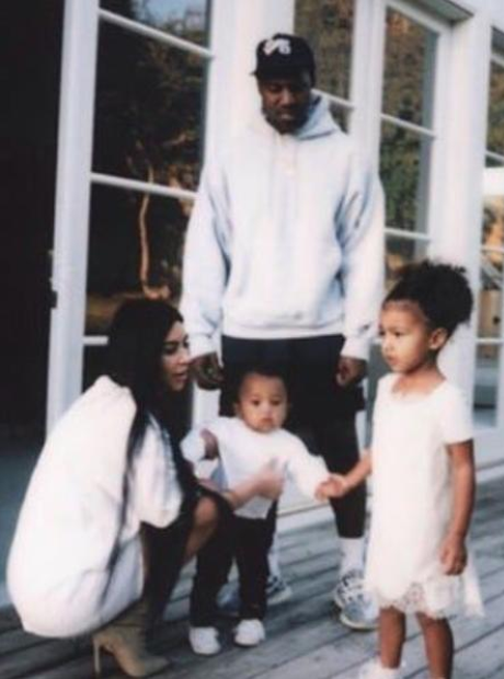 Kim Kardashian posts unseen family photos on her w