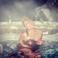 Image 8: Mariah Carey in a hot tub in Aspen