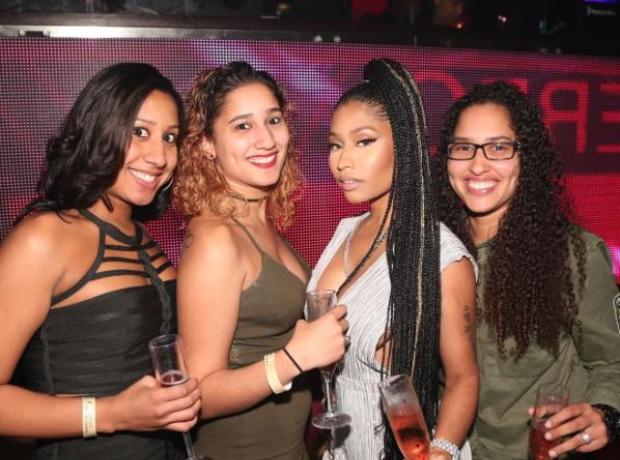 Nicki Minaj celebrates with her cousins on NYE in
