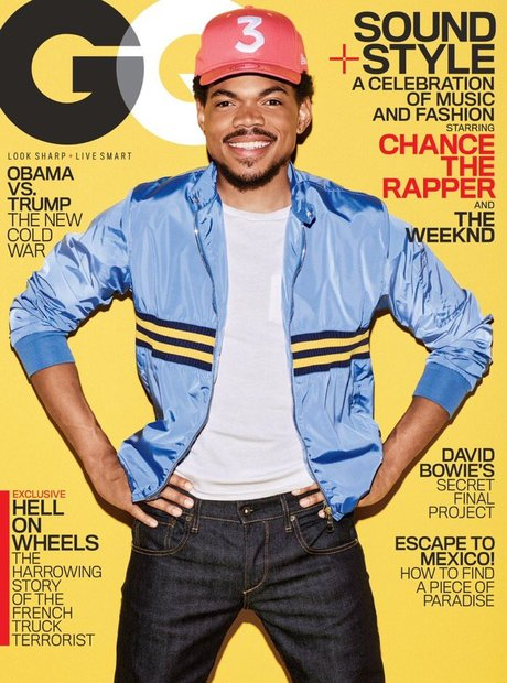 Chance The Rapper On GQ Feb 2017