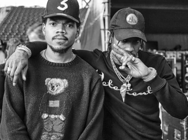Chance The Rapper Travis Scott