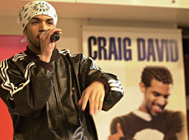 Craig David Performing