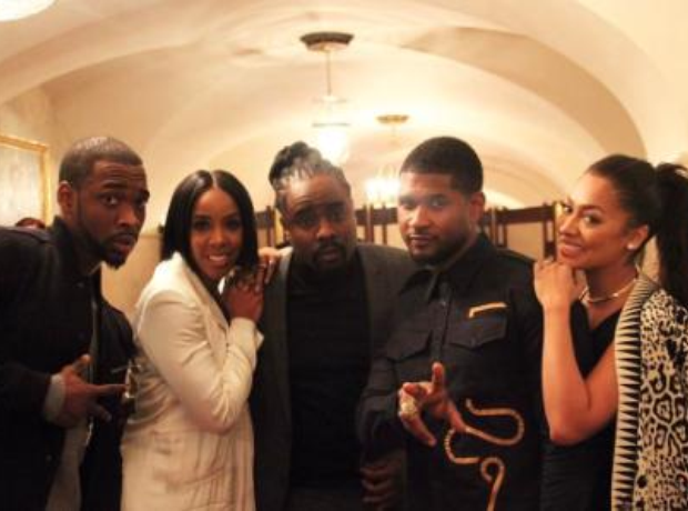 Kelly Rowland Wale White House Obama