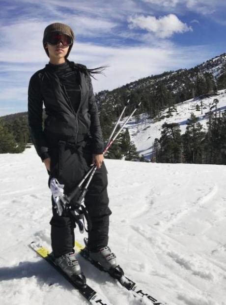 Tinashe Skiing