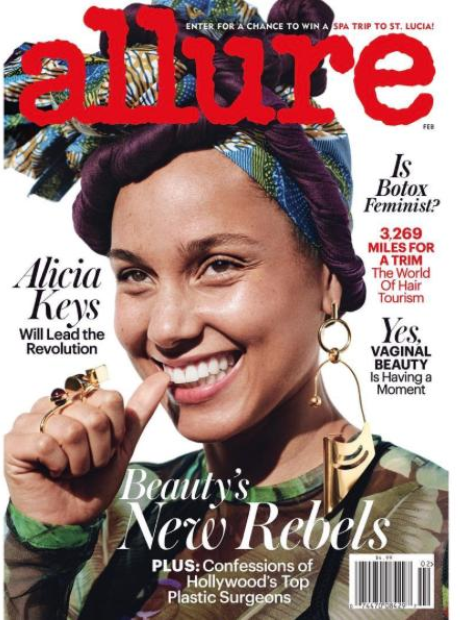 Alicia Keys Allure Magazine
