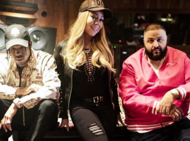 DJ Khaled Mariah Carey Travis Scott