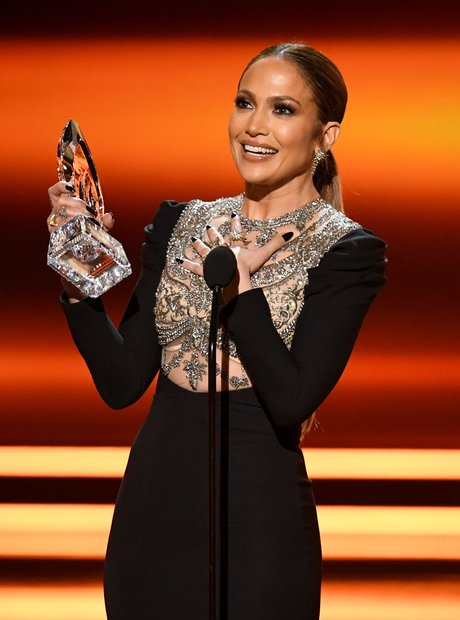 Jennifer Lopez won The People's Choice Award for F