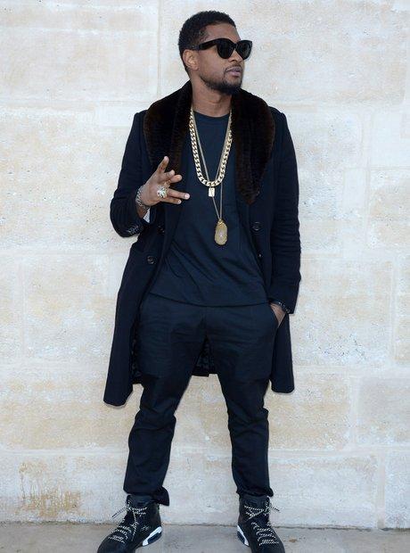 Usher Louis Vuitton Paris