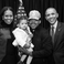 Image 1: Chance The Rapper, Obamas and daughter