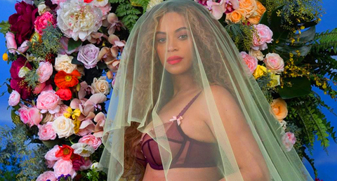 Beyonce Pregnant Twins Instagram