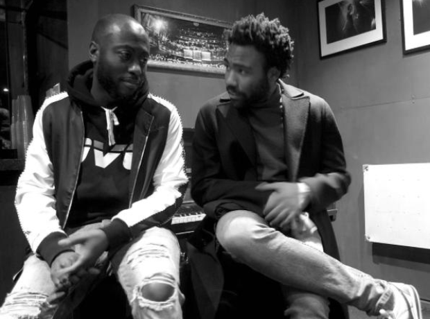 Childish Gambino and producer Nineteen85.
