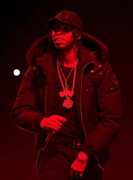 Krept at Drake concert in London