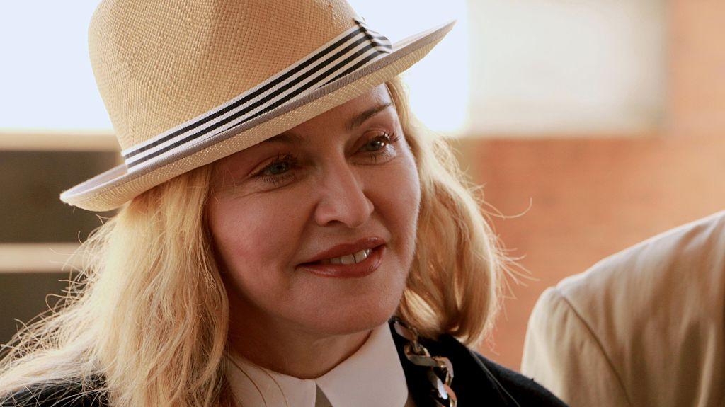 Madonna visits Malawi 2016
