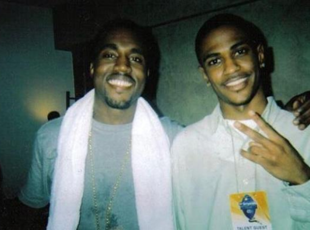 Big Sean and Kanye West First Ever Picture