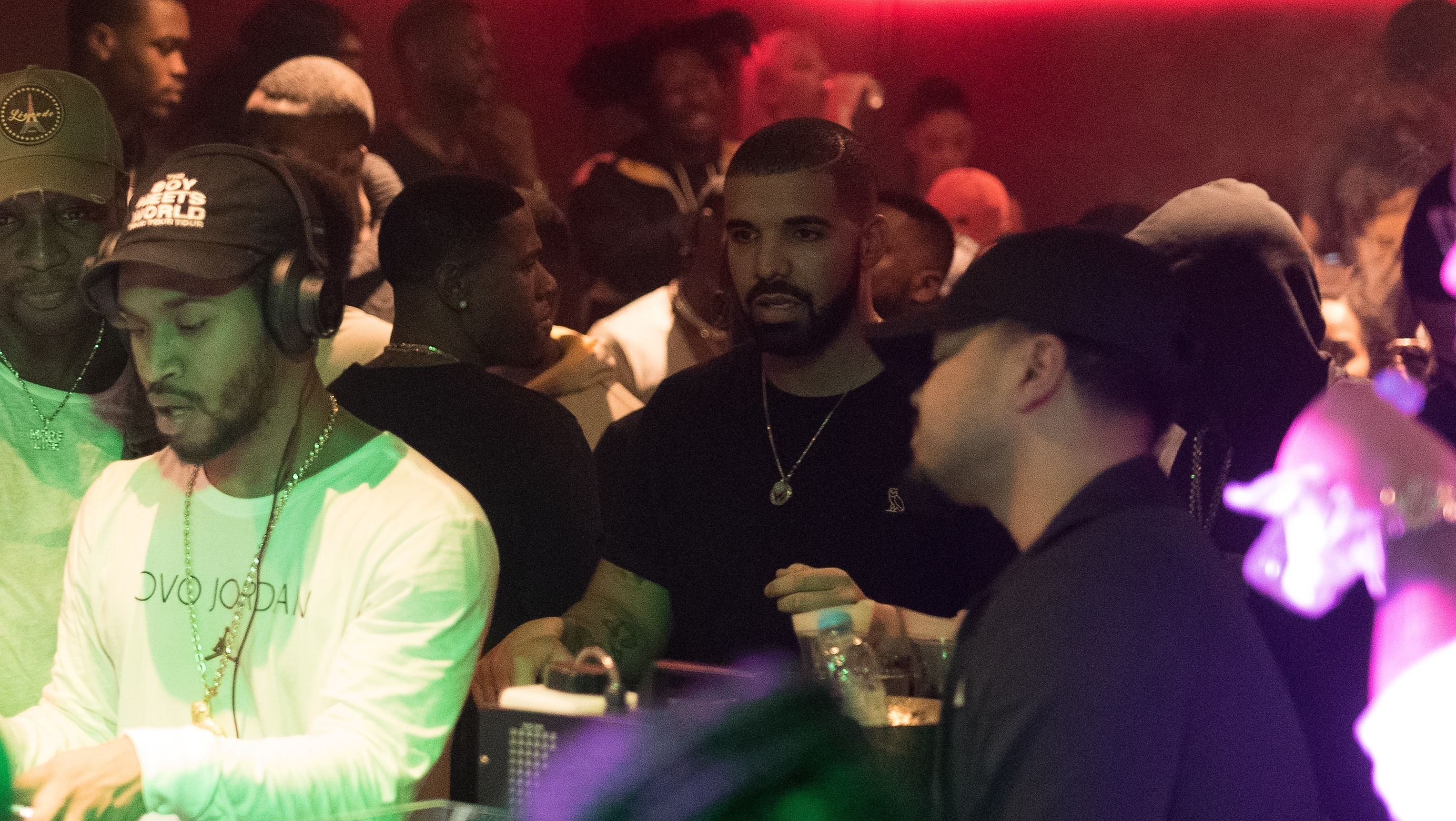 Drake in London nightclub