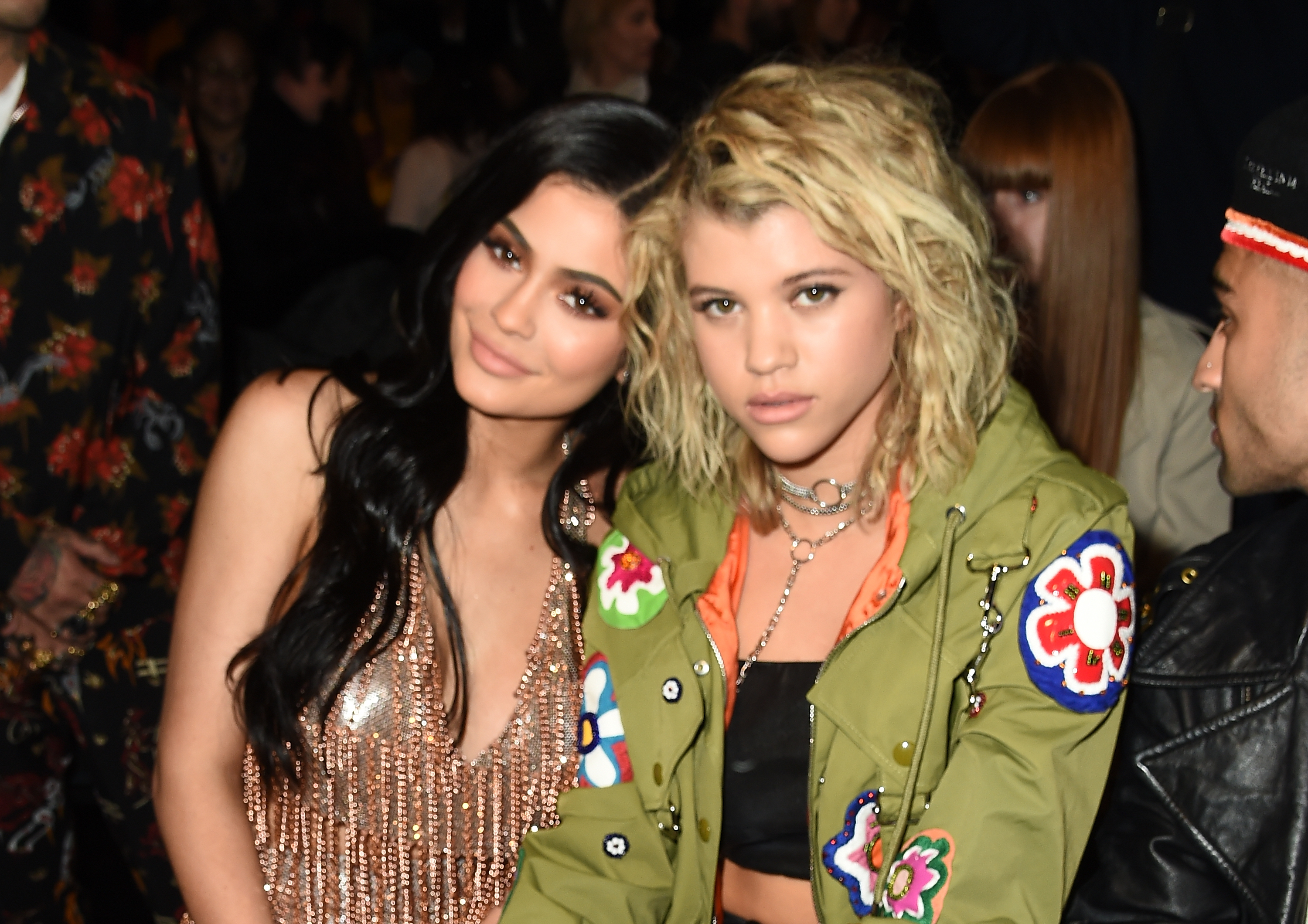 FROW Moments FM Kylie Jenner and Sofia Richie at J