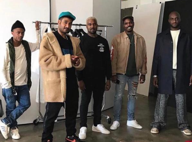 7d488181702 Kanye West is currently in New York preparing to launch Yeezy Season ...