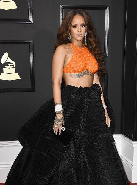 Rihanna Grammys 2017