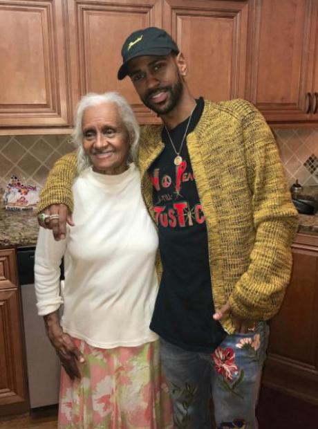 Big Sean and his Grandma