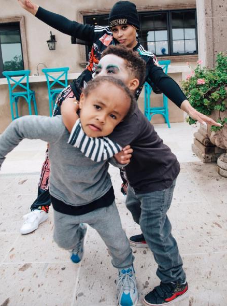 Blac Chyna, King Cairo and Sebastian Taylor Thomaz