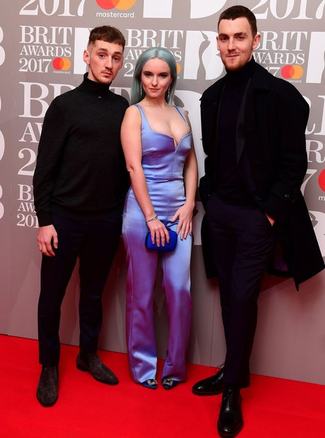 Clean Bandit BRITs Red Carpet Arrivals 2017