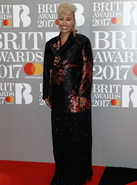 Emeli Sande BRITs 2017 Red Carpet Arrivals