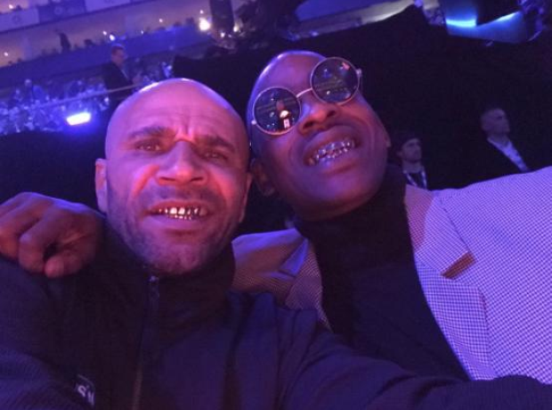 Skepta and Goldie at the BRITs