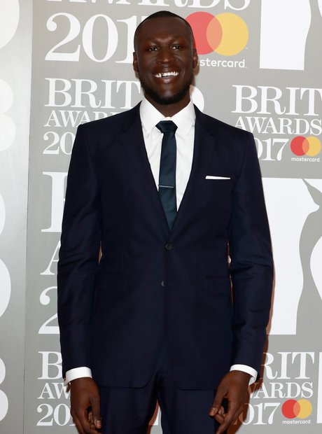 Stormzy BRITs Red Carpet Arrivals
